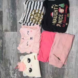 3/$20 Girls Size 4 Winter Fall Lot